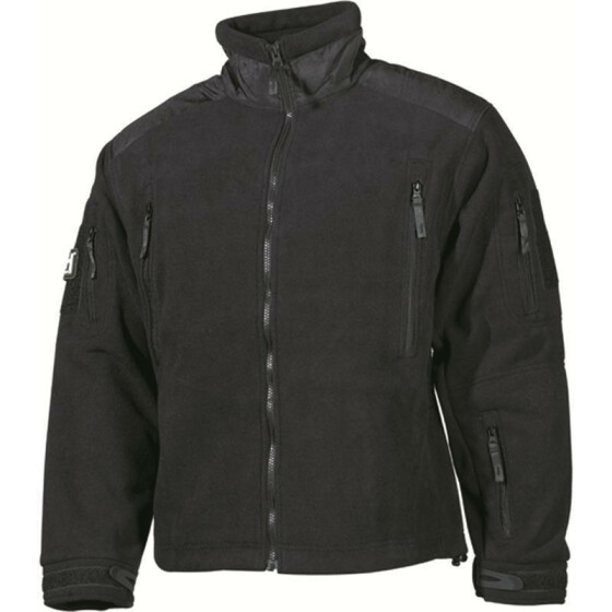 MFH Fleece-Jacke, Heavy-Strike, schwarz