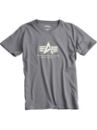 Alpha Industries BASIC T, greyblack L