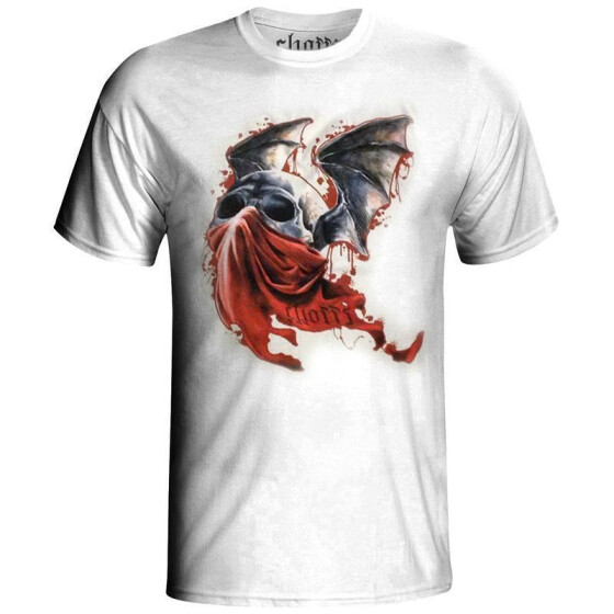 T-Shirt DEVIL, white