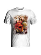 T-Shirt Hot Rock, white XL