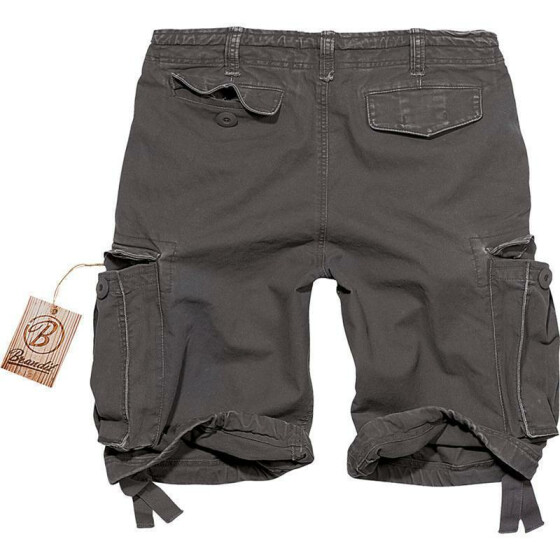 BRANDIT Army Vintage Shorts, anthrazit XL