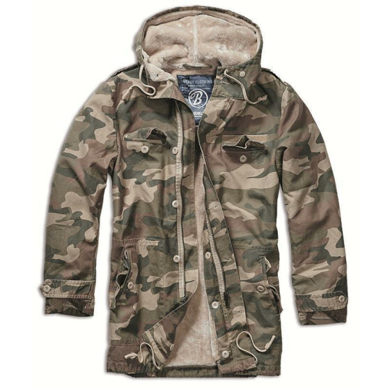 BRANDIT BW Parka, light woodland 3XL