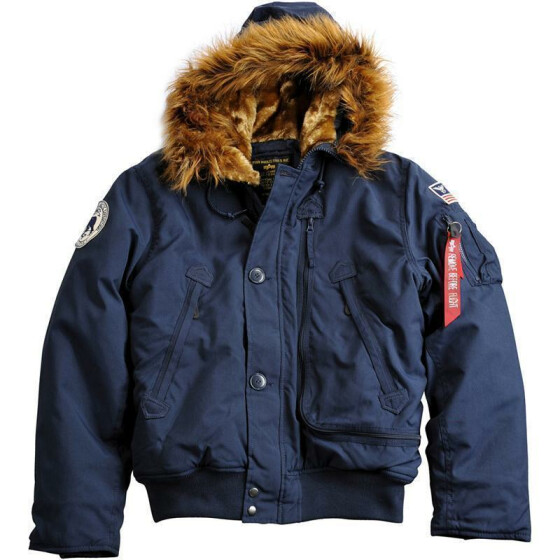 Alpha Industries  Polar Jacket SV, rep. blue