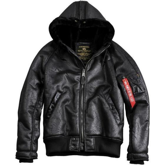 Alpha Industries N2B VF CW, black