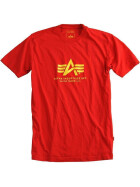 Alpha Industries BASIC T, speed red L