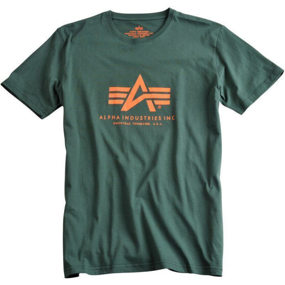 Alpha Industries  BASIC T, dark petrol