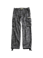Alpha Industries  Jet Pant, black camo