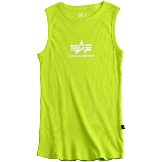 Alpha Industries  LOGO TANK, lime