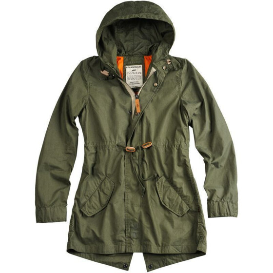 Alpha Industries Light Weight Fishtail women (Damen), olive