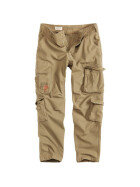 SURPLUS Airborne Slimmy Trouser, stonewashed, beige XL / 98,5 cm