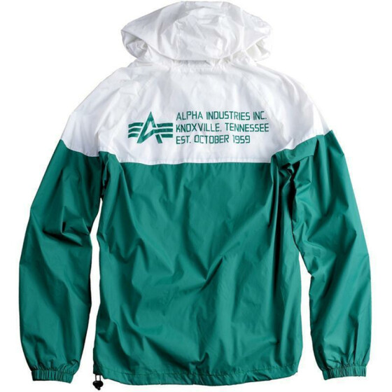 Alpha Industries Helix II Jacket, green-white