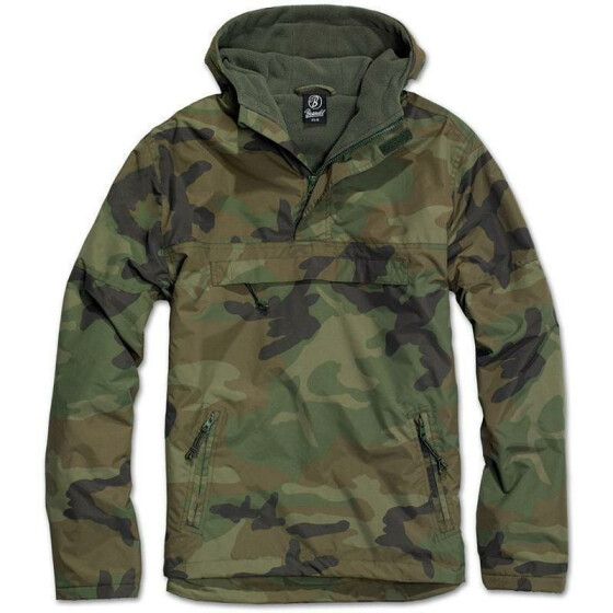 BRANDIT Windbreaker, woodland 3XL