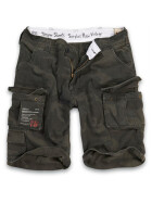 SURPLUS Trooper Short, black camo 4XL / 113 cm
