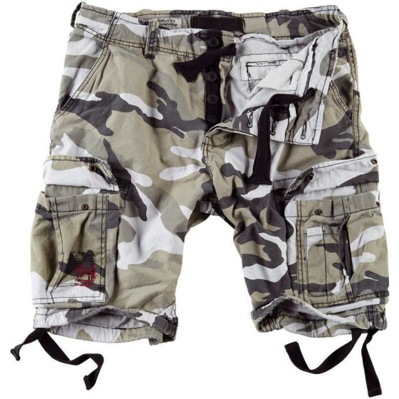 SURPLUS Airborne Vintage Shorts, urban 7XL