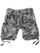 SURPLUS Airborne Vintage Shorts, night camo XL