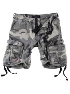 SURPLUS Airborne Vintage Shorts, night camo 4XL