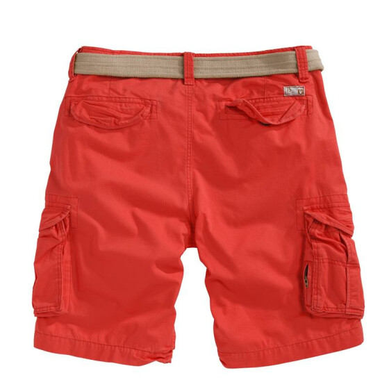 SURPLUS XYLONTUM VINTAGE SHORTS, rot XL