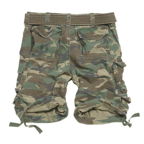 SURPLUS Division Short, woodland 5XL - 116 cm