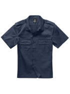 BRANDIT US Hemd 1/2 Arm, navy 3XL