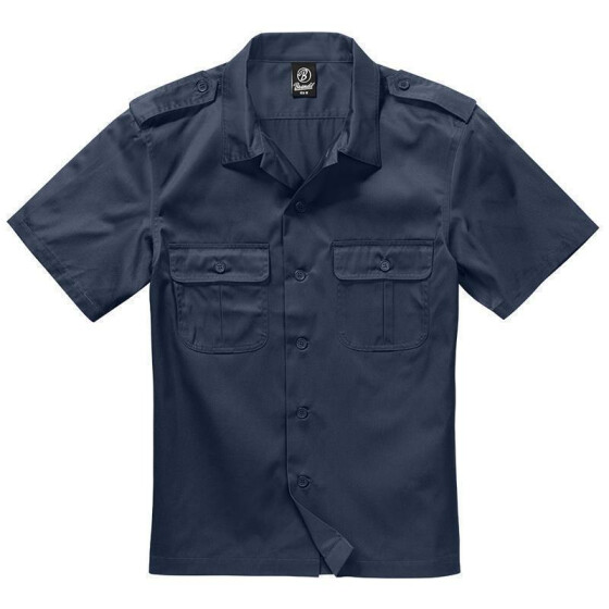 BRANDIT US Hemd 1/2 Arm, navy 4XL
