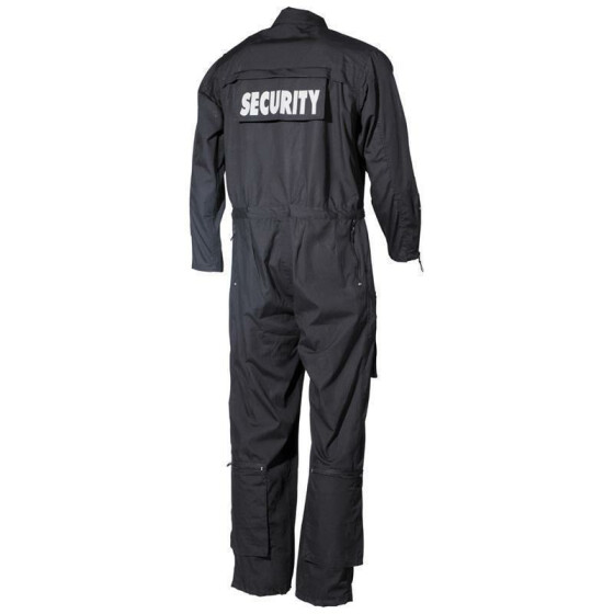 MFH Overall SECURITY, schwarz XXL