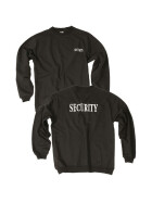 MILTEC Pullover SECURITY, schwarz XL