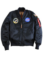 Alpha Industries MA-1 VF NASA wmn (Damen), rep. blue L