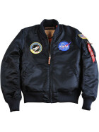 Alpha Industries MA-1 VF NASA, rep. blue