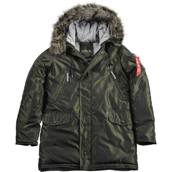 Alpha Industries N3-B R, dark green