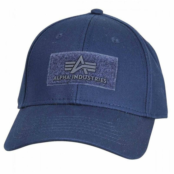 Alpha Industries VELCRO CAP, rep. blue