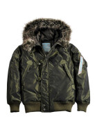 Alpha Industries ARCTIC JACKET wmn (Damen), dark green S