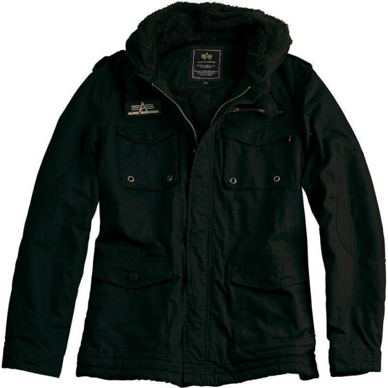 Alpha Industries  ROD Jacket, black M
