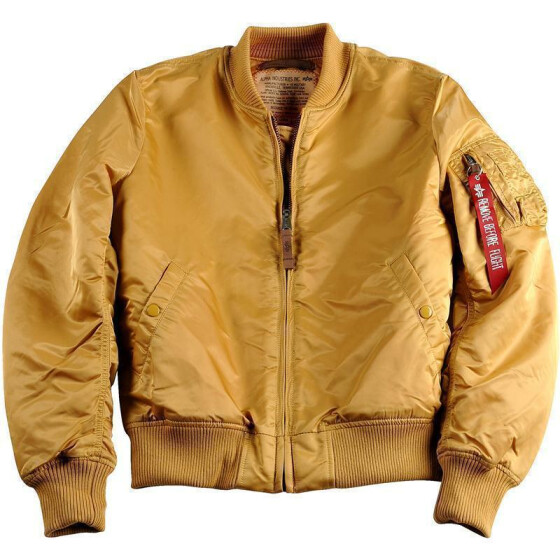 Alpha Industries  MA-1 VF 59, gold
