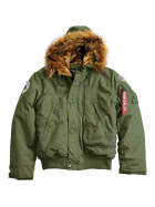 Alpha Industries  Polar Jacket SV, dark green