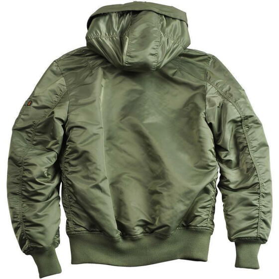 Alpha Industries MA-1 HOODED, sage green