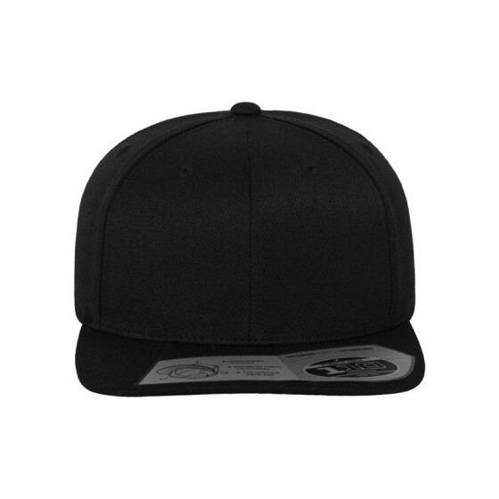 Flexfit 110 Fitted Snapback, black