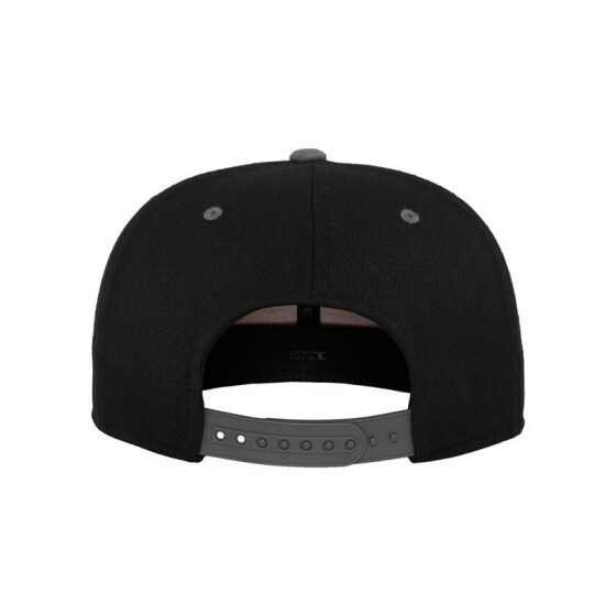 Flexfit 110 Fitted Snapback, blk/gry