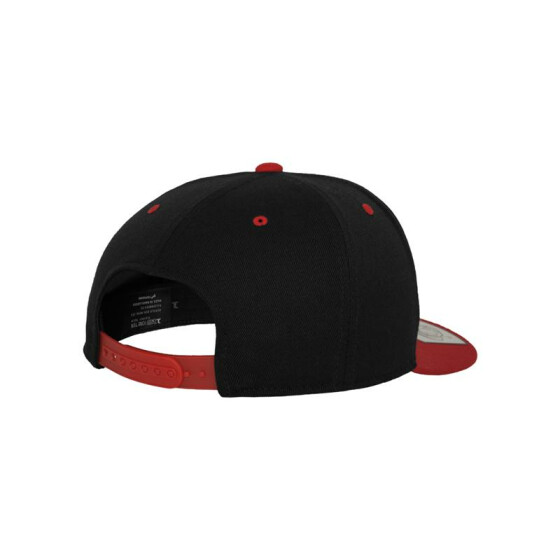 Flexfit 110 Fitted Snapback, blk/red