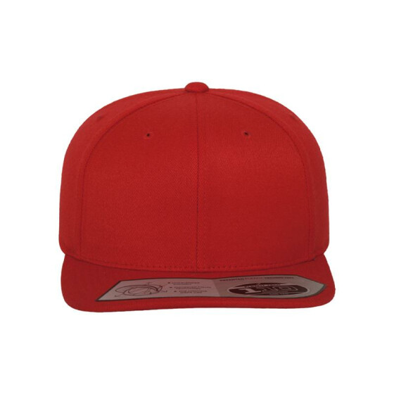 Flexfit 110 Fitted Snapback, red