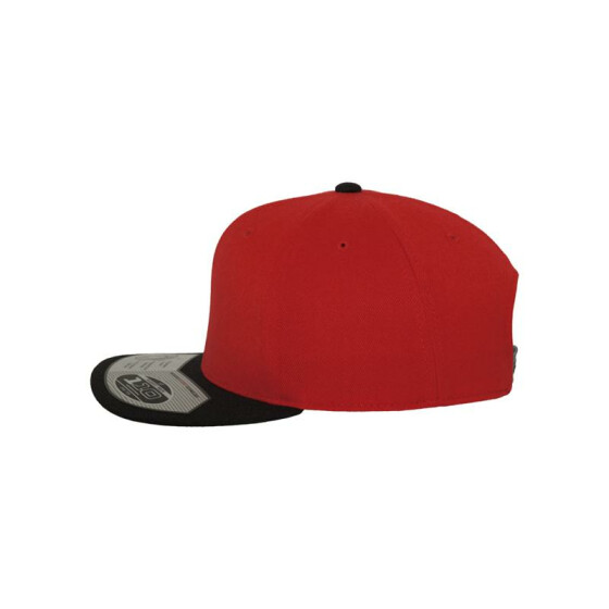 Flexfit 110 Fitted Snapback, red/blk