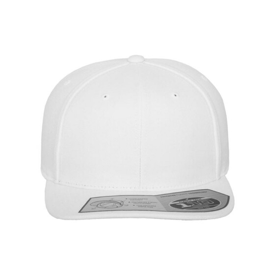 Flexfit 110 Fitted Snapback, white