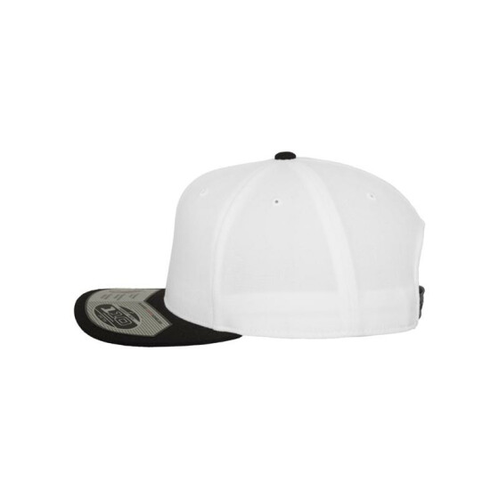 Flexfit 110 Fitted Snapback, wht/blk