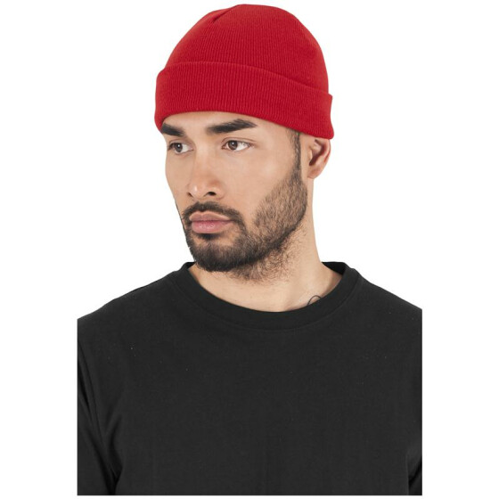 Flexfit Heavyweight Beanie, red