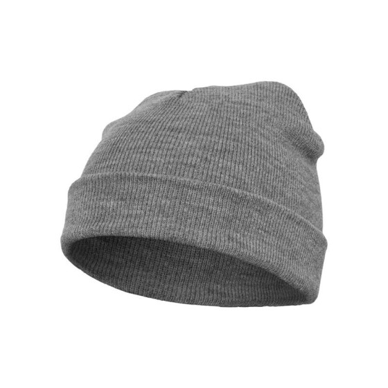 Flexfit Heavyweight Beanie, heather grey
