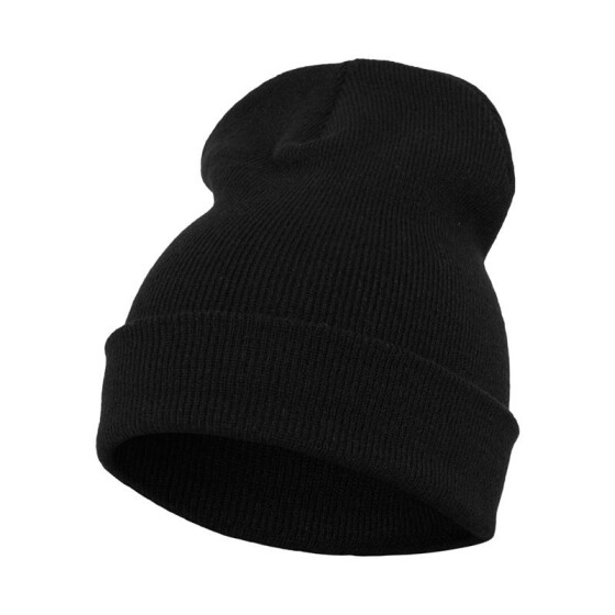 Flexfit Heavyweight Long Beanie, black