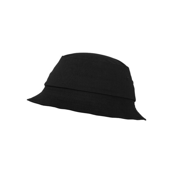 Flexfit Cotton Twill Bucket Hat, black