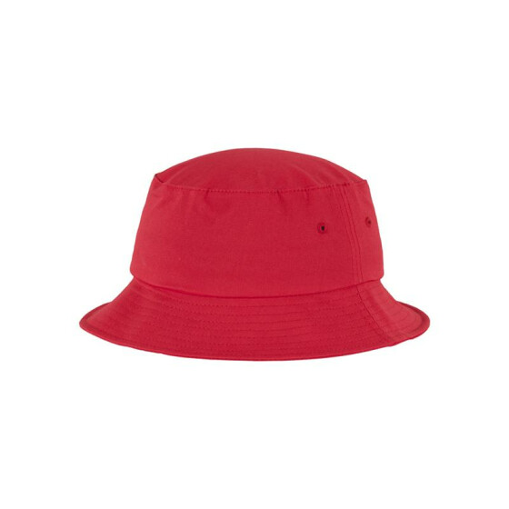 Flexfit Cotton Twill Bucket Hat, red