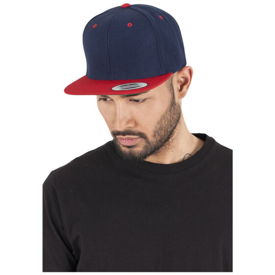 Flexfit Classic Snapback 2-Tone, nvy/red