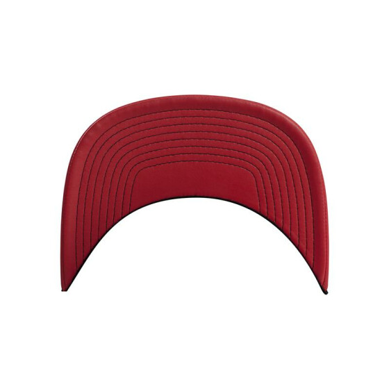 Flexfit Metallic Visor Snapback, red