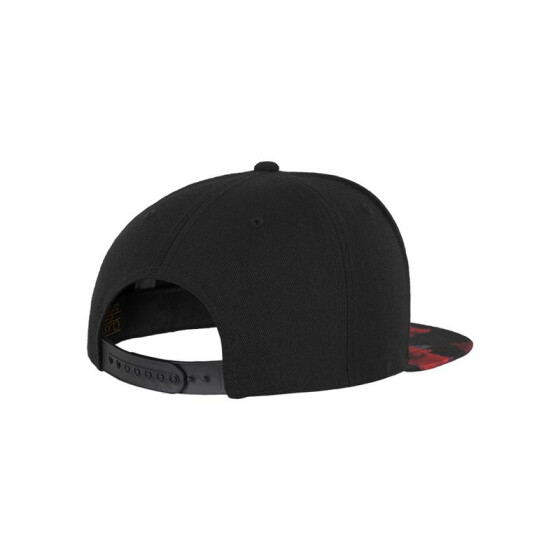 Flexfit Roses Snapback, blk/red